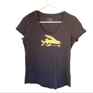 🍋 Patagonia Flying Fish Slim Fit T-shirt